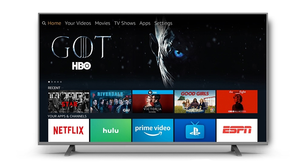 Your Amazon Fire TV can stream Apple Music.