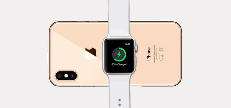 Charging your Apple Watch could become as simple as placing it on your iPhone.