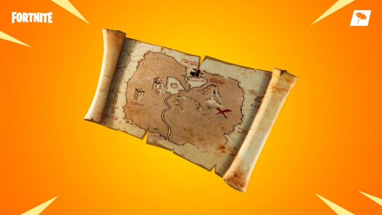 Fortnite hidden treasure
