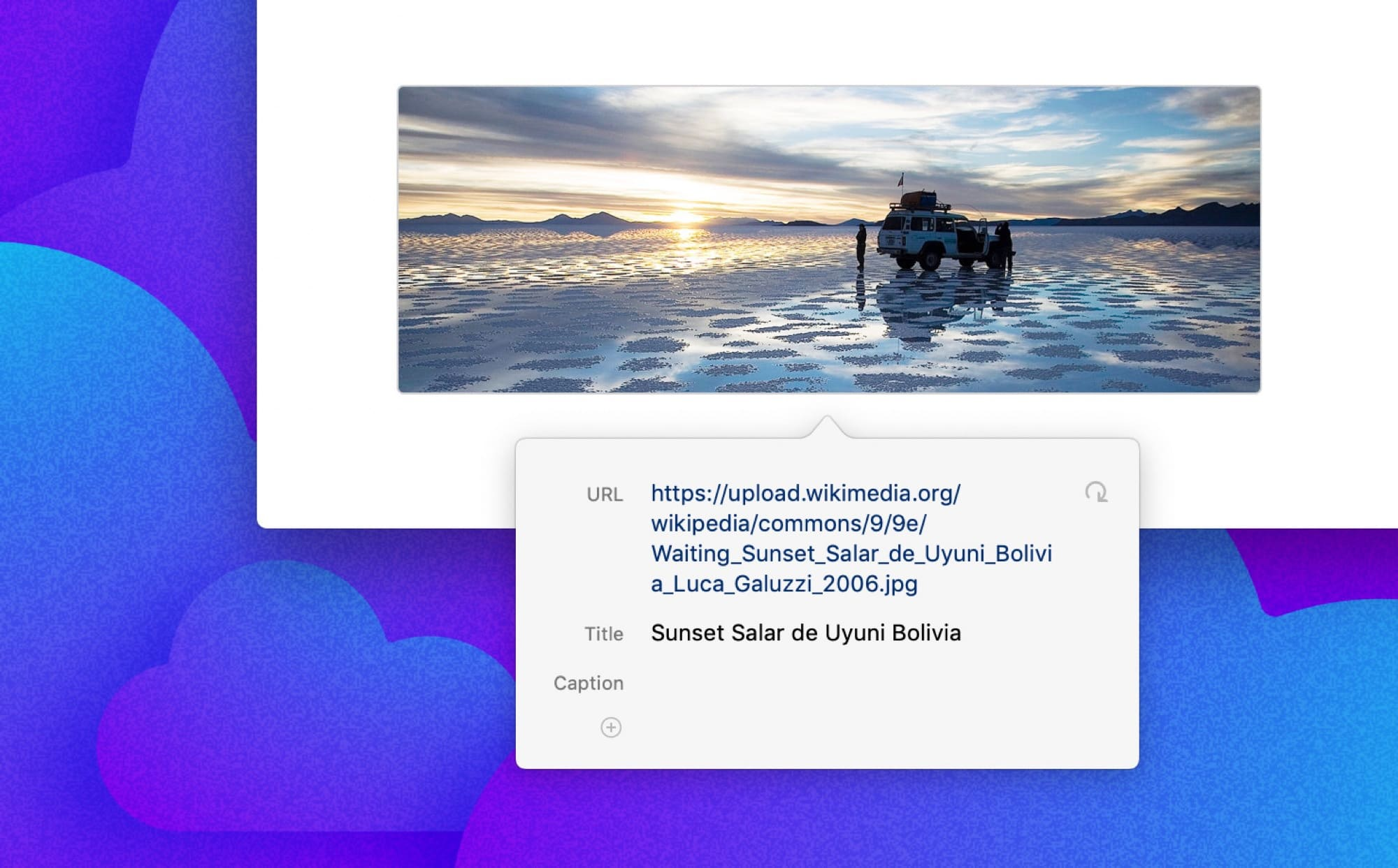 Ulysses adds remote image thumbnails on the Mac.