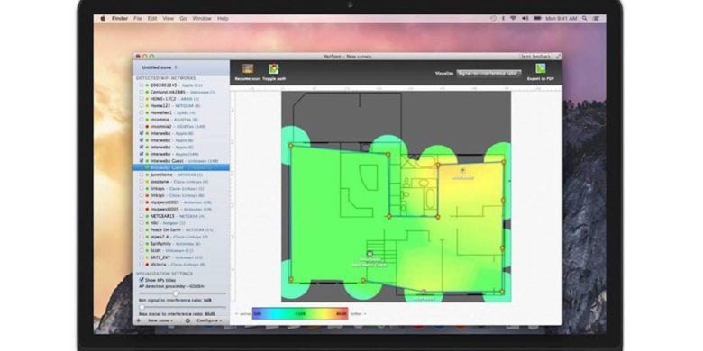 This app creates a heatmap of your Wi-Fi coverage at home or at work, then walks you through the process of fixing the weak spots.