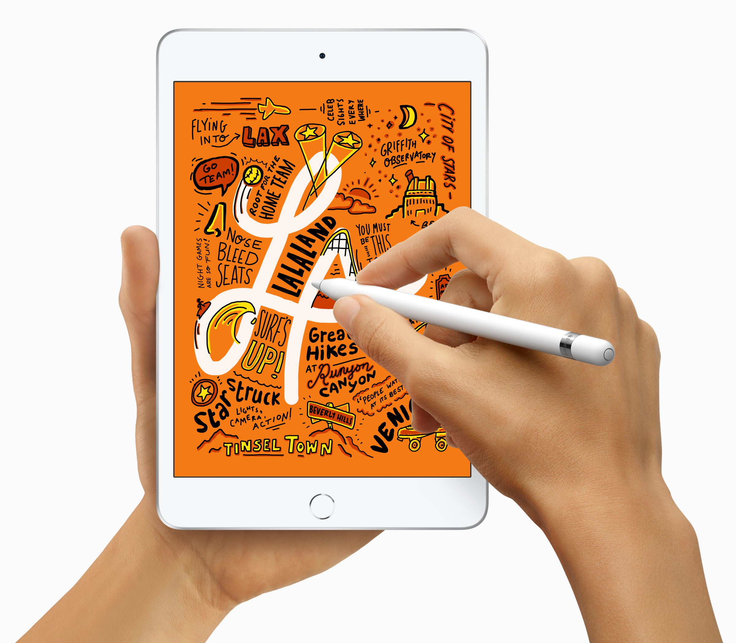 iPad mini 5 brings Apple Pencil support