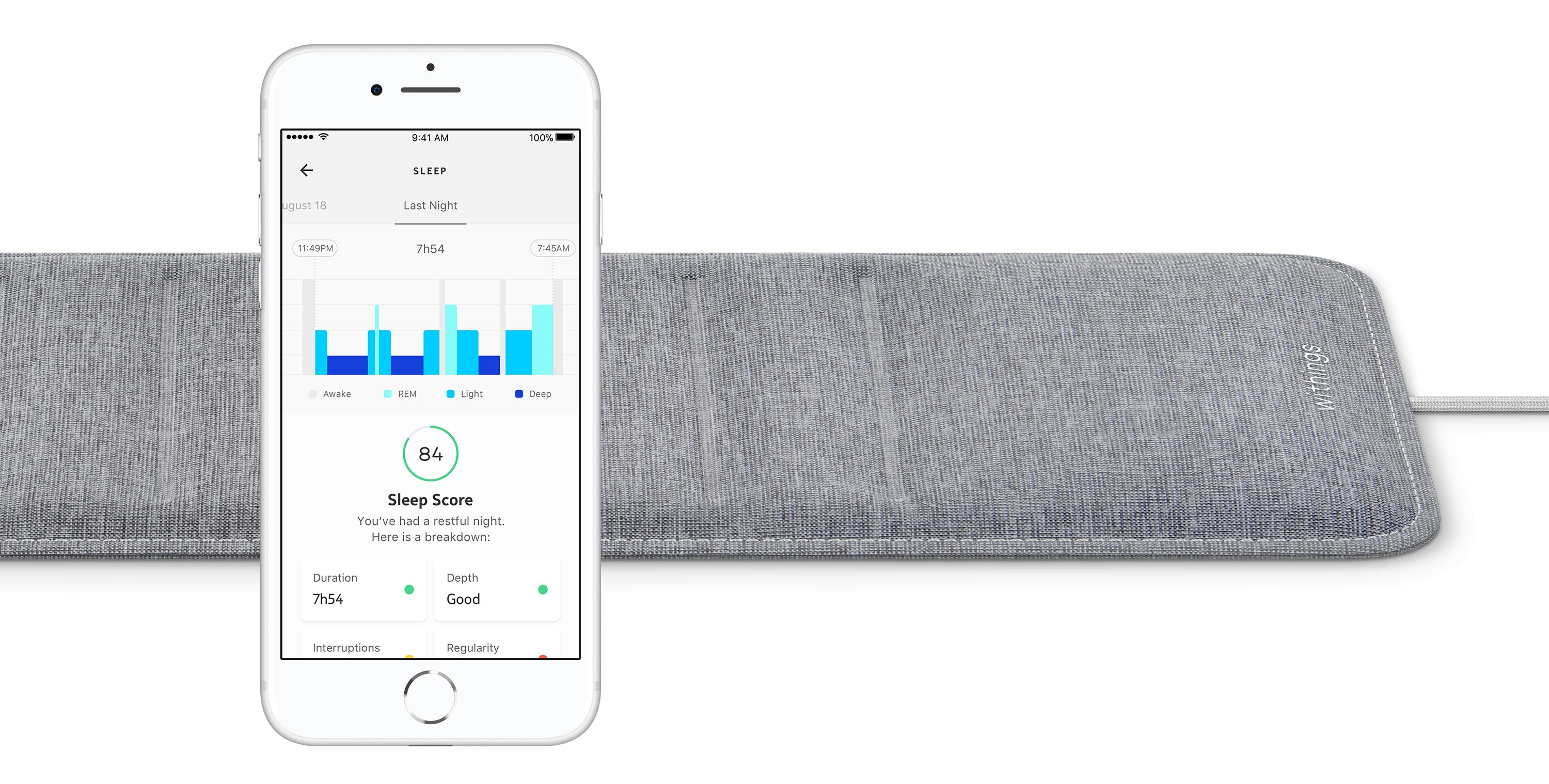 Withings Sleep mat