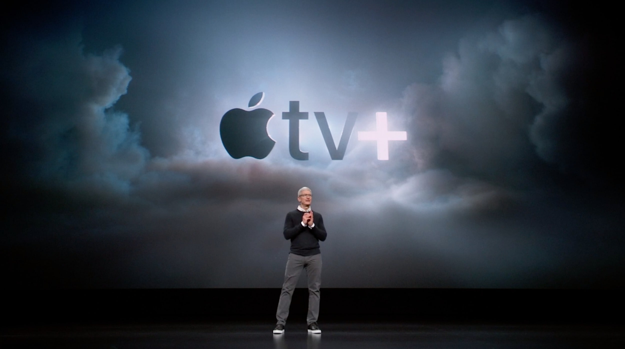Tim Cook talks up the potential of Apple TV+ to change the world.