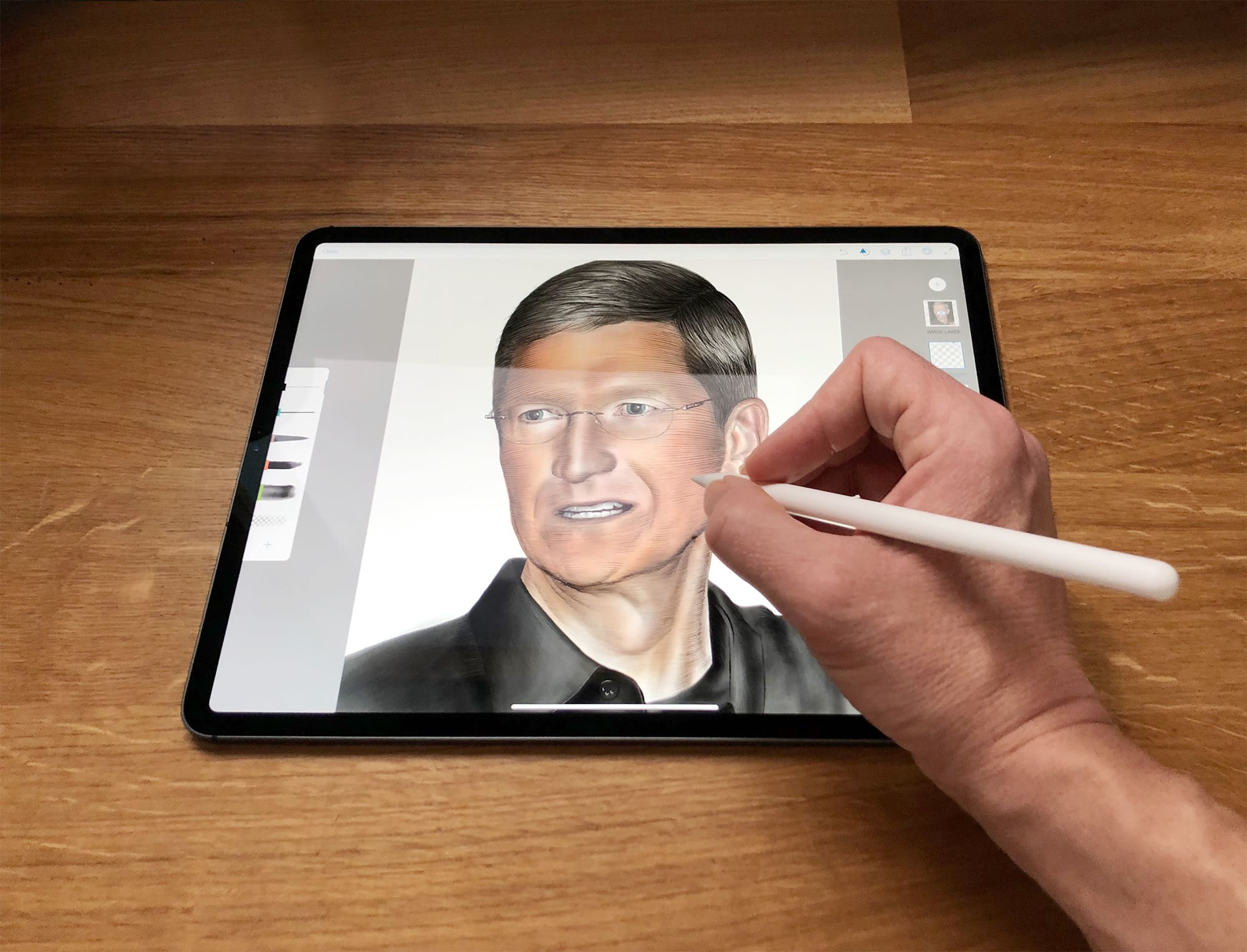 How To Draw A Portrait With Apple Pencil Cult Of Mac