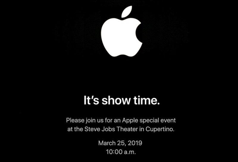 Apple Show time event