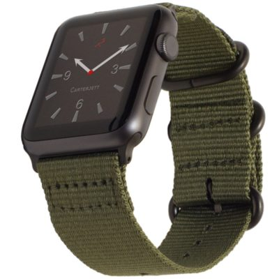 Carterjett NATO band in olive