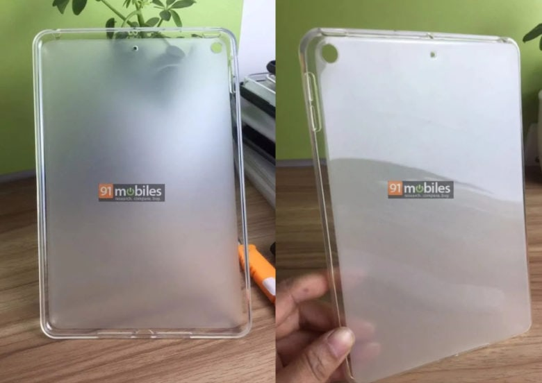 iPad mini 5 case leak