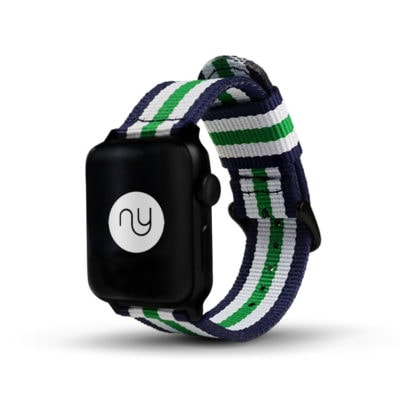 Nyloon Grön Nylon Apple Watch Band