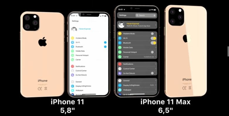 iPhone 11 and iPhone 11 Max rumors video