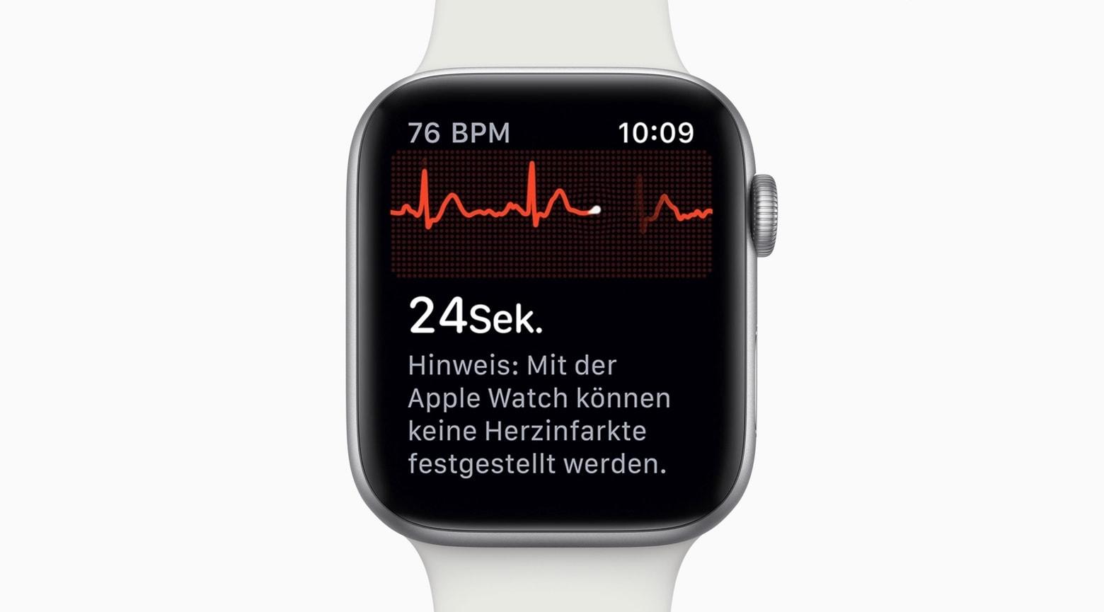 Apple Watch ECG debuted in Germany last week.