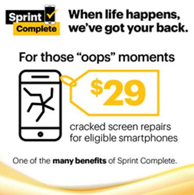 sprint phone insurance broken screen