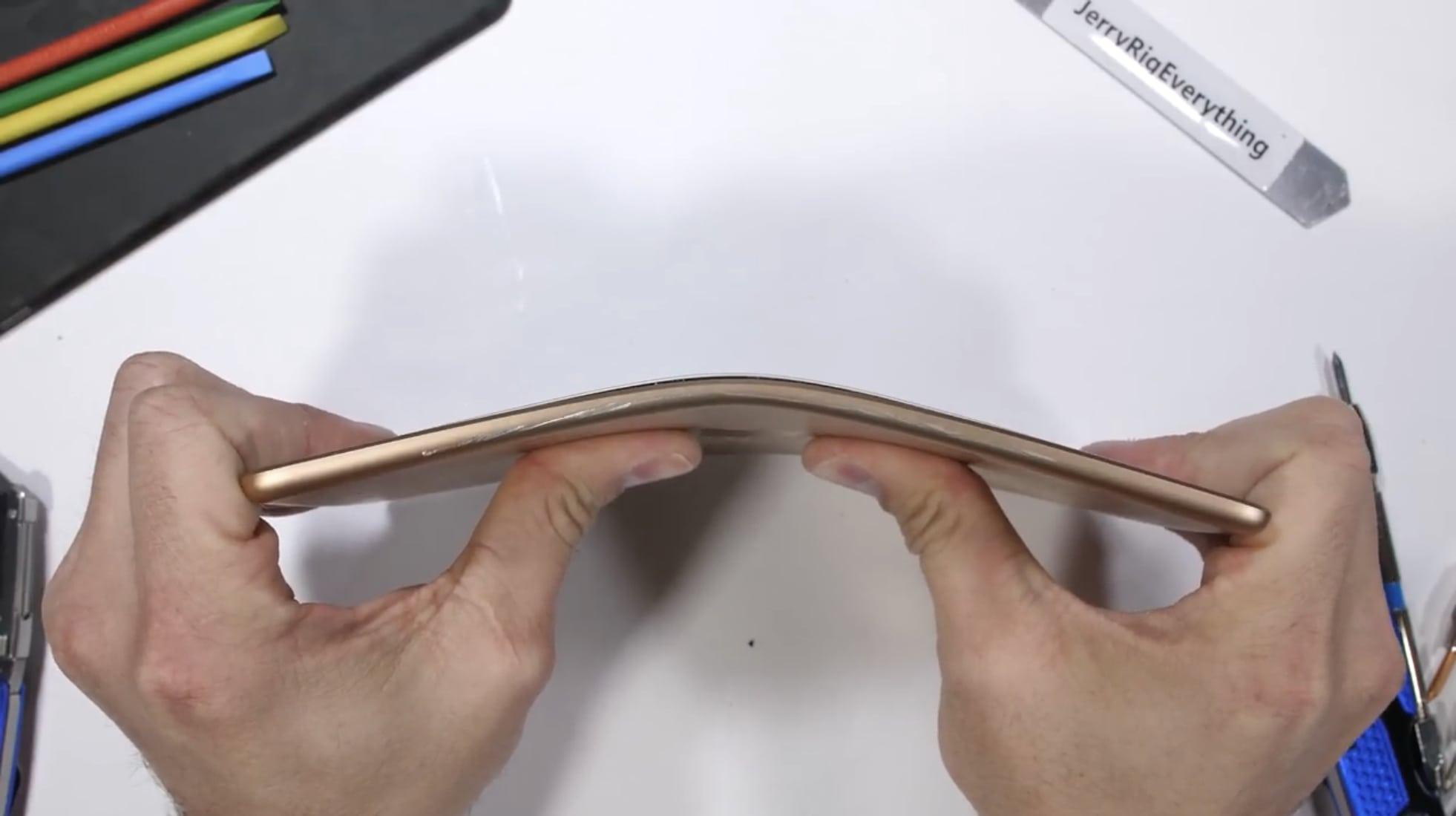 2019 iPad mini bend test