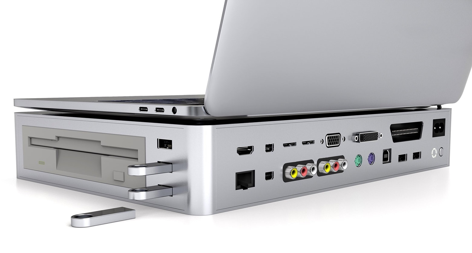 This USB-C hub has everything but the kitchen sink.