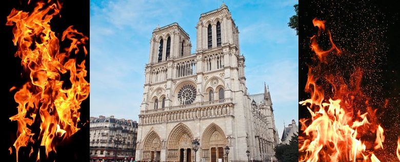 Apple will help rebuild Paris's fire-ravaged Notre Dame cathedral.