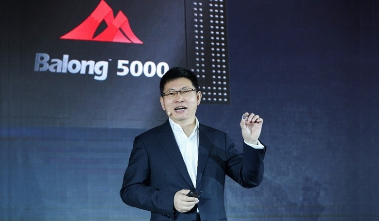 Huawei launched the Balong 5000 5G modem in January.