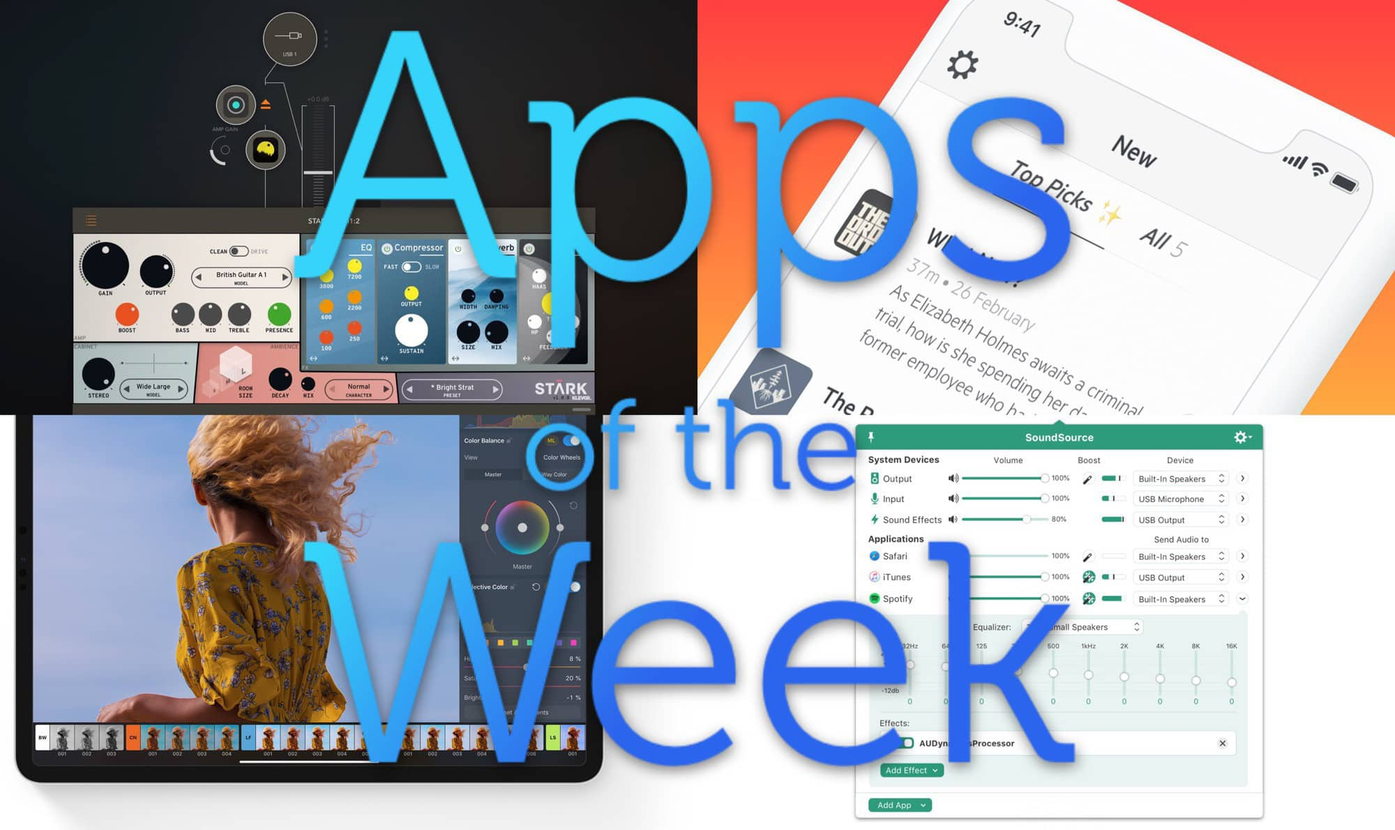 This week we really have some great apps for you.