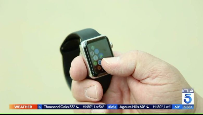 Apple Watch lost at sea found