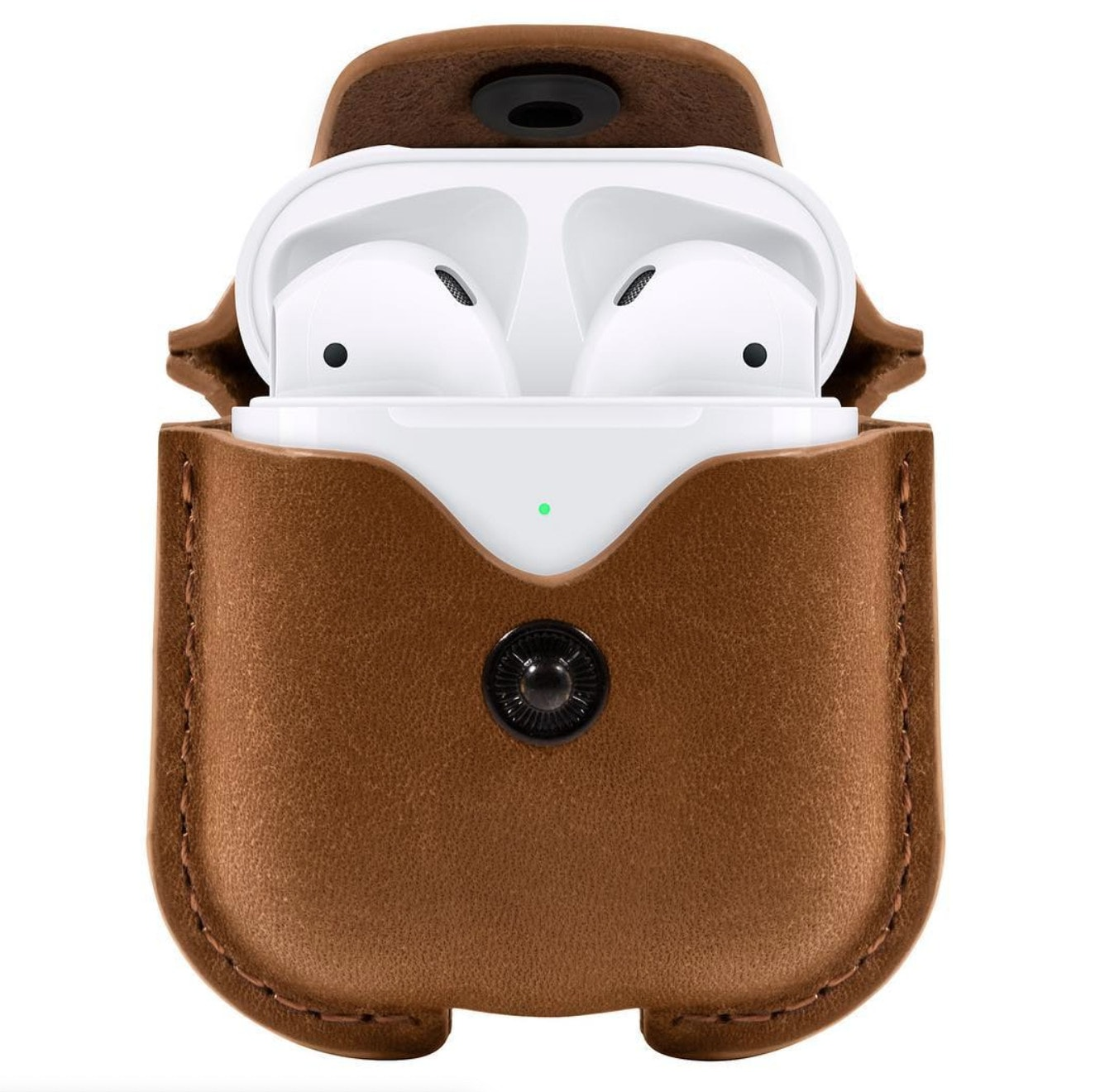 AirSnap protects both your AirPods and charging case from getting nicked, but it also shields them from scratches, dirt, and drops while floating around your desk, computer bag, or purse.