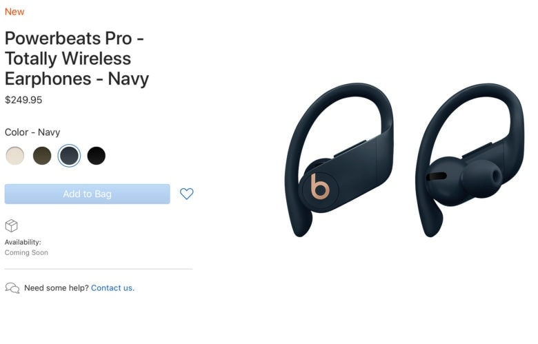 f0d12c3dc50 You can now pre-order your Powerbeats Pro earbuds | Cult of Mac