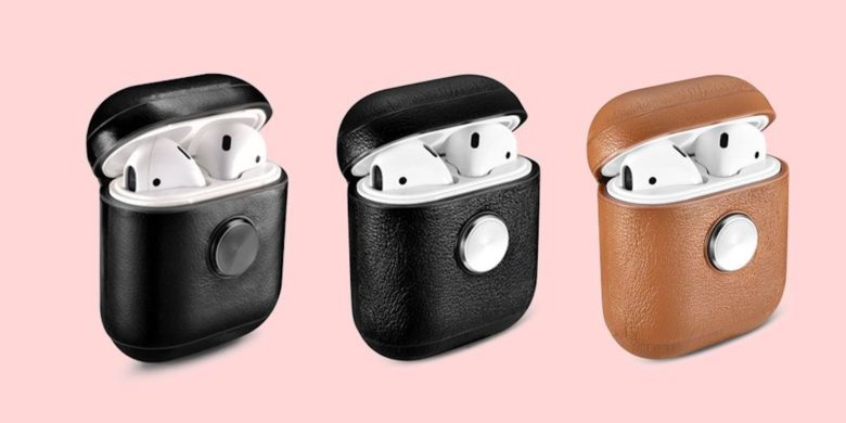 This stylish AirPod 2 charging case does double duty as a mind-relaxing fidget spinner.