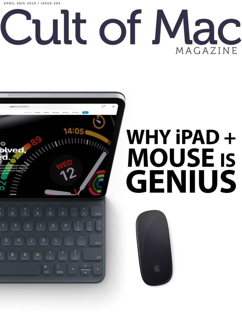 Actually, using a mouse with an iPad sounds pretty awesome.