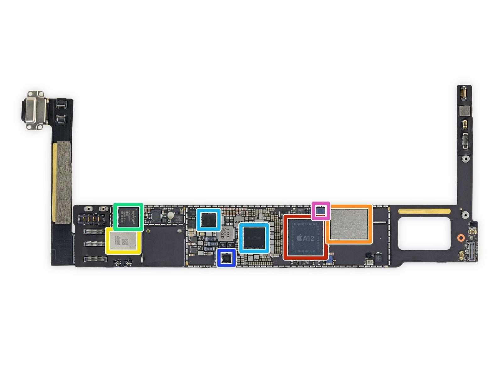 iPad mini 5 logic board