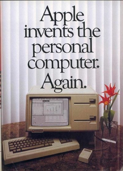 This was true. Kinda. The Apple Lisa did reinvent the computer.