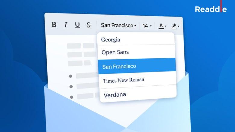 Spark-fonts