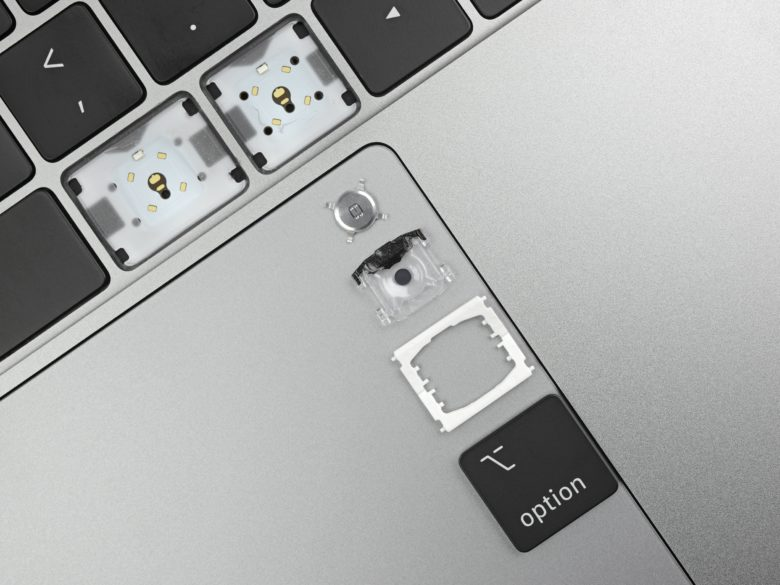 2019 MacBook Pro keys