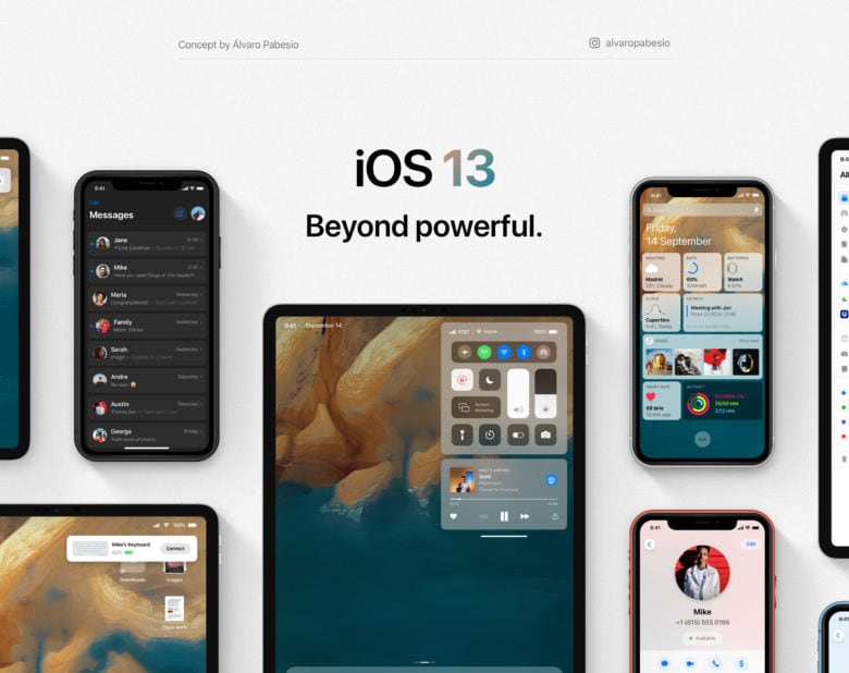 We hope iOS 13 looks a lot like this.