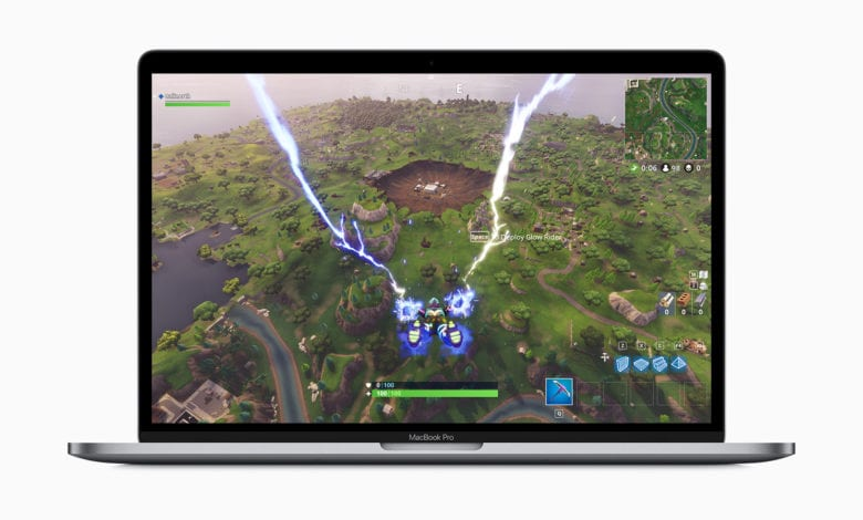 2019 MacBook Pro Fortnite