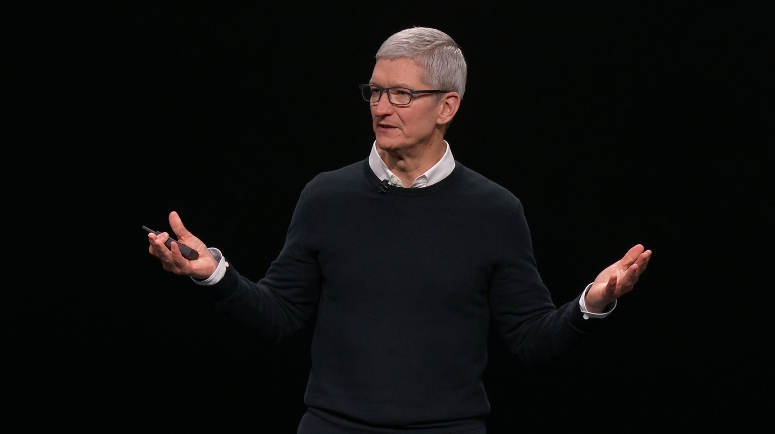 2018 interview with Tim Cook suggests Apple was working on iCloud backup encryption