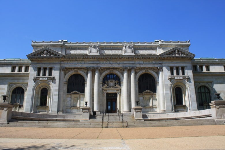 Apple is taking over Carnegie Library.