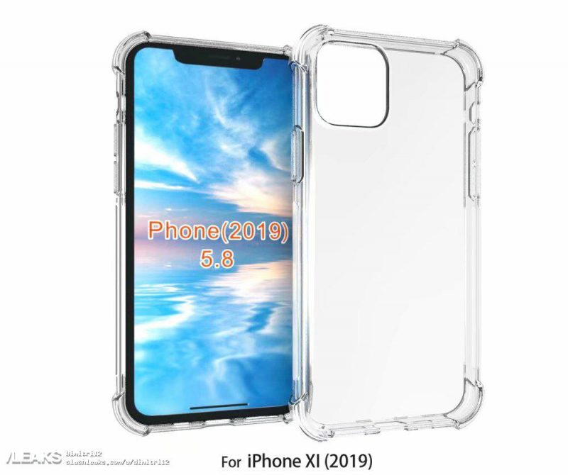 2019 iPhone case leak