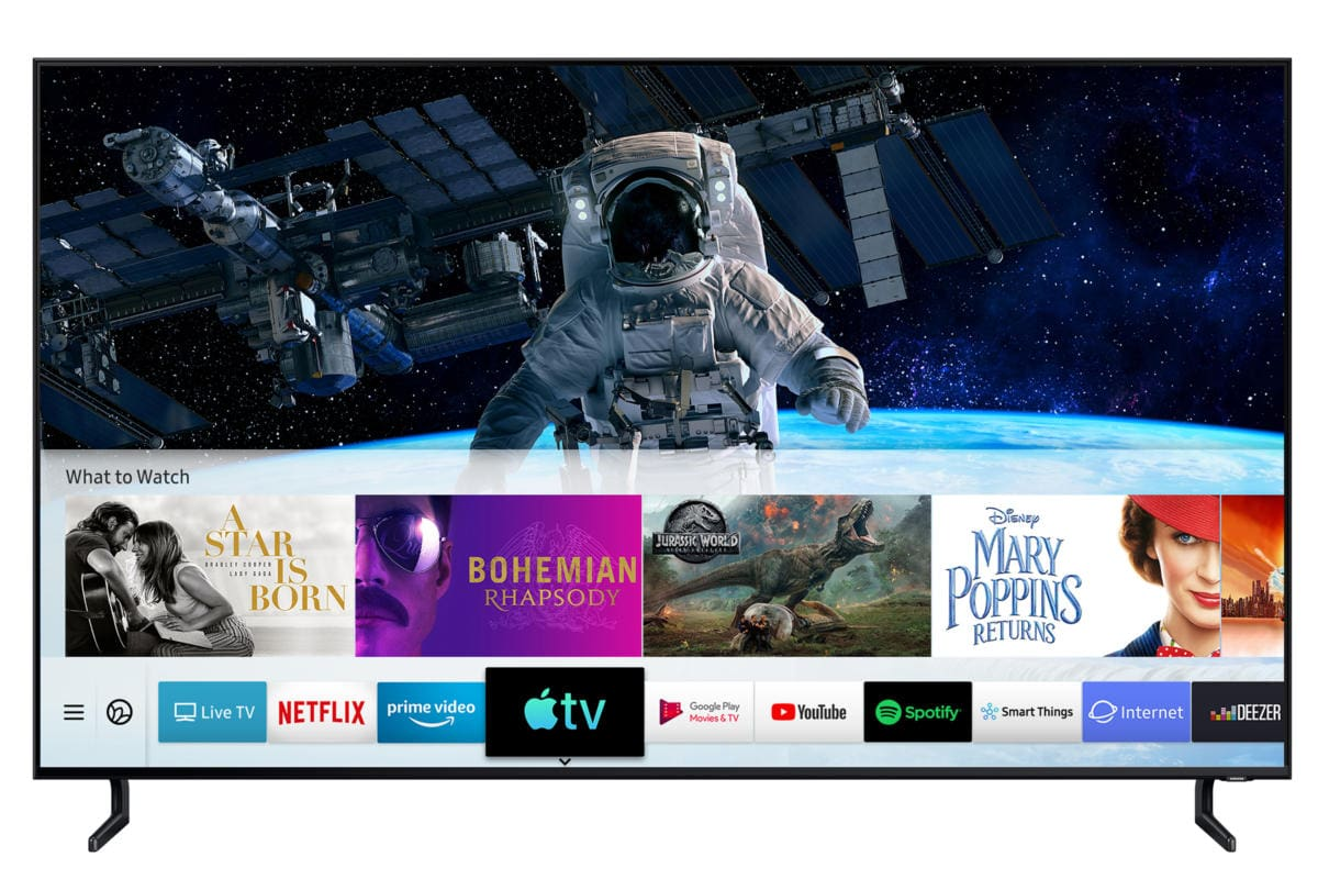 Apple TV app Samsung