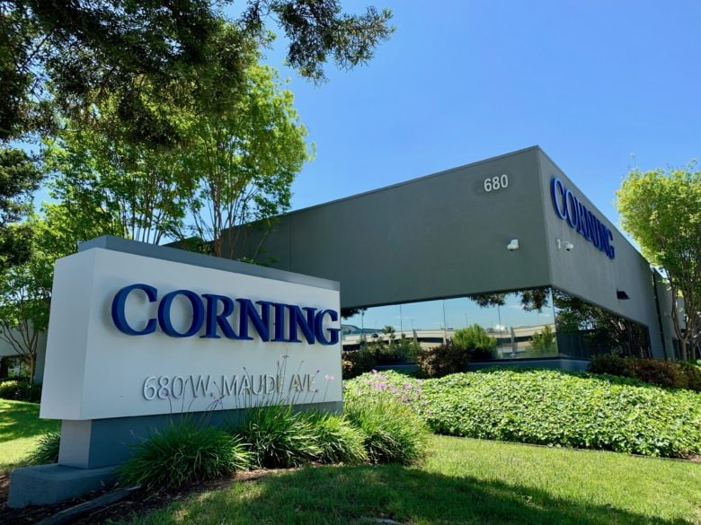Corning's Silicon Valley research center