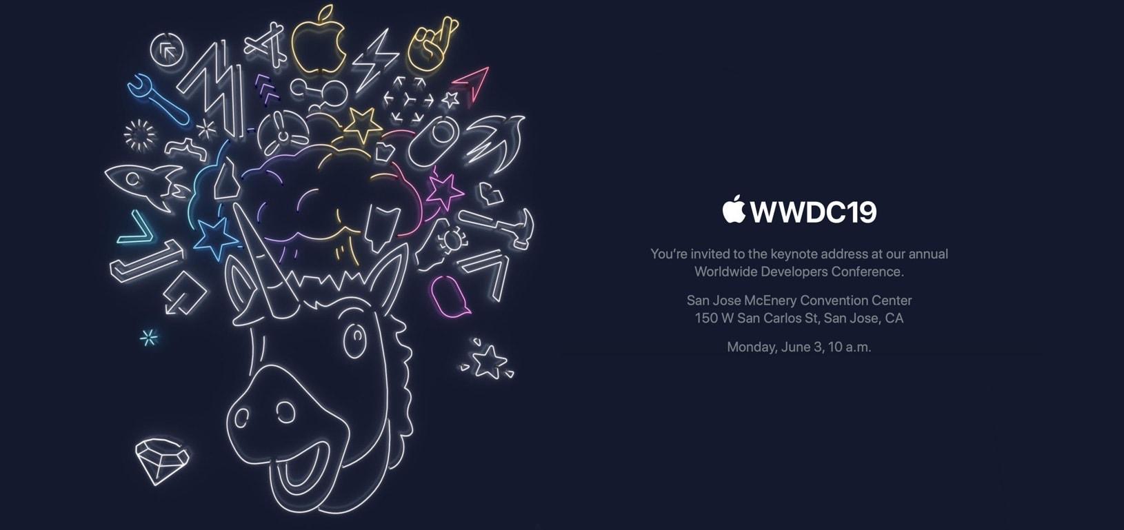 WWDC 2019 invitation