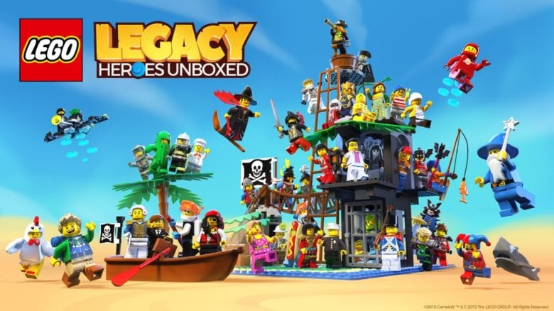 Lego Legacy: Heroes Unboxed