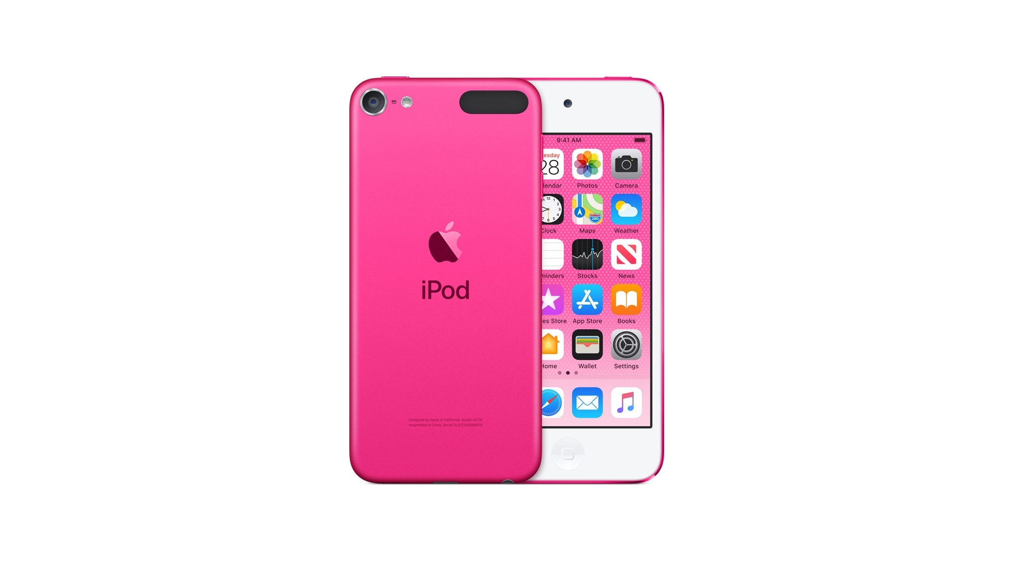 "It has a headphone jack and it comes in pink. What is not to love? ""Width ="" 2000 ""height ="" 1112"