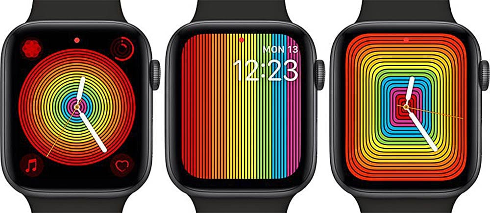 Pride Apple Watch faces