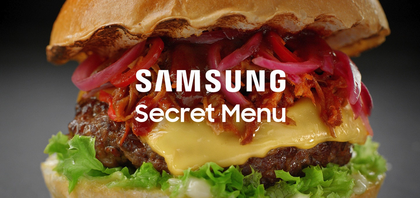 Buy a Samsung to access 'secret menus' in top restaurants