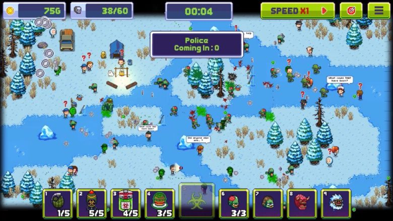 This zombie invasion simulator makes you the plague master