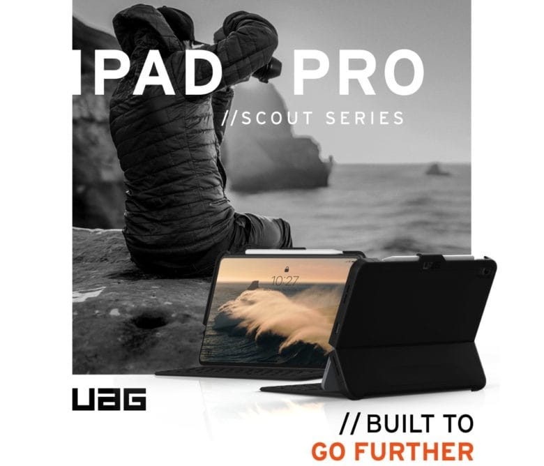 low priced f2c6b 1fc64 Military-grade iPad Pro case also protects your Smart Keyboard ...