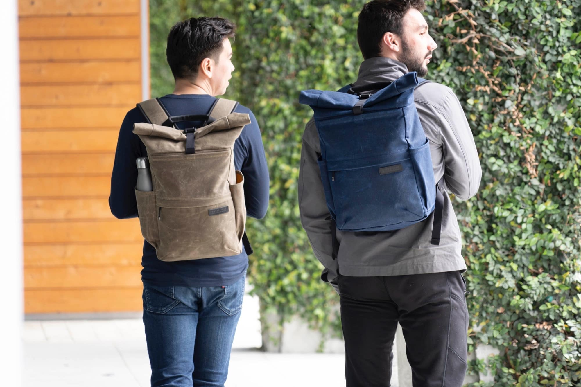 WaterField Designs' Tech Rolltop mixes good looks and utility.