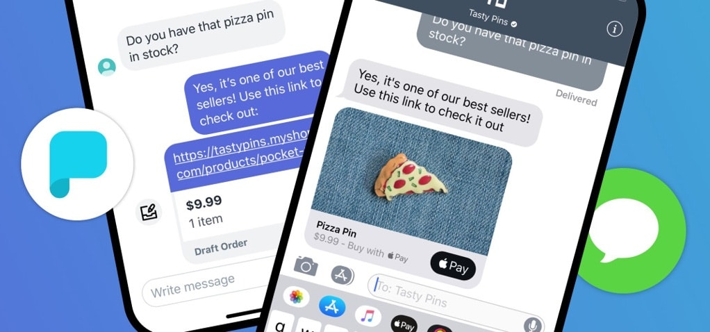 Shopify buys into Apple Business Chat