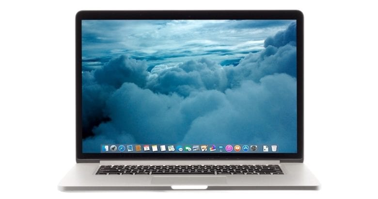 The 2015 15-inch Retina MacBook Pro tops the list. You were expecting something else?