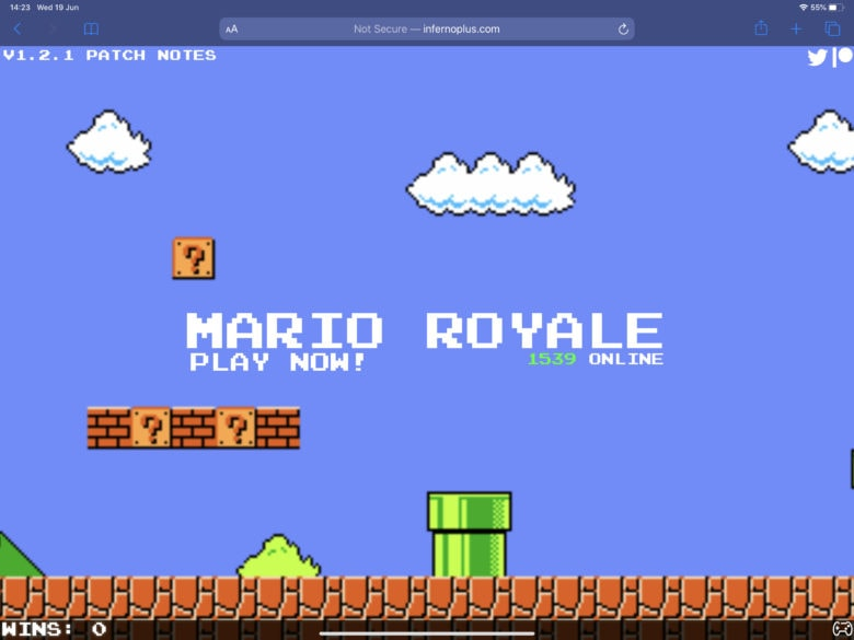 Nintendo fires takedown notice at fan-made Mario Royale
