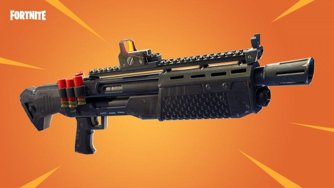 Fortnite heavy shotgun