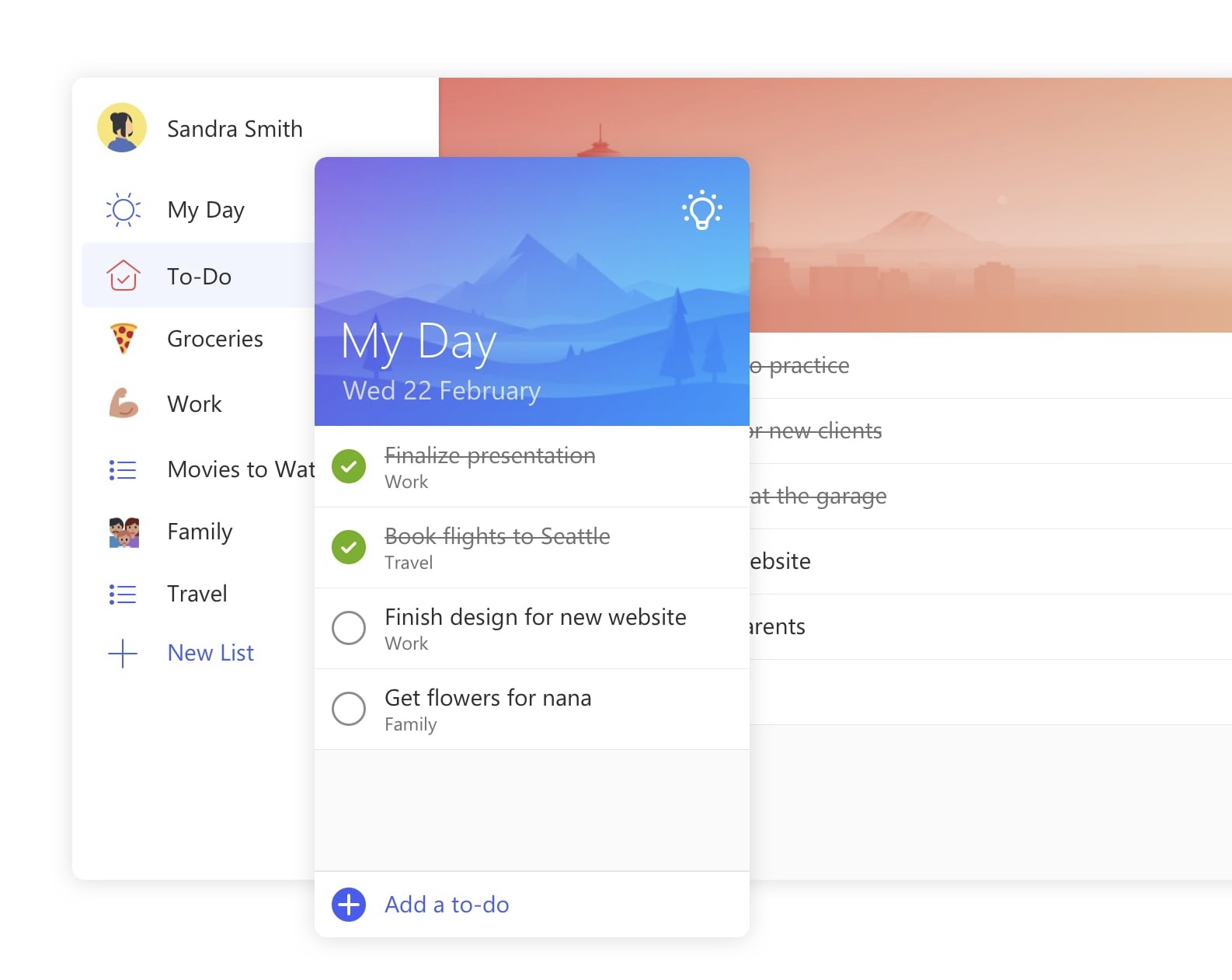 Microsoft To-Do for Mac